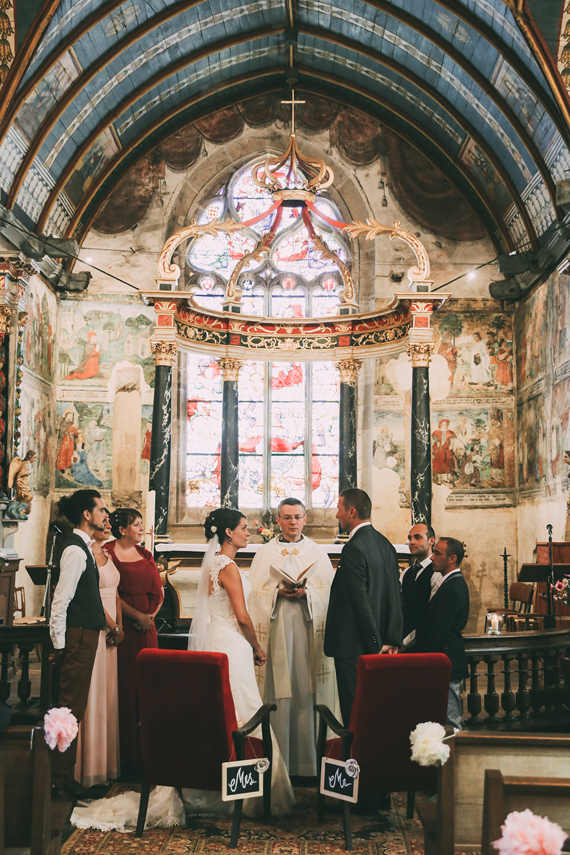 mariage bretagne église