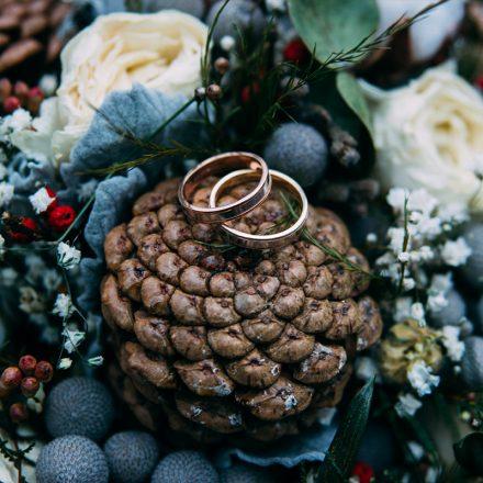 photographe mariage rennes bretagne couple marié shooting foret onirique
