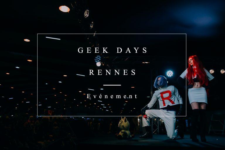 geek days rennes 2018 photographe événementiel