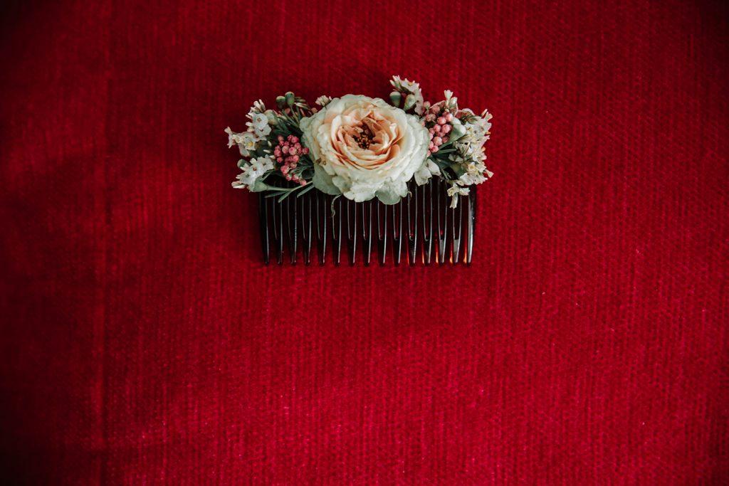 mariage nantes préparatif mariée hotel peigne